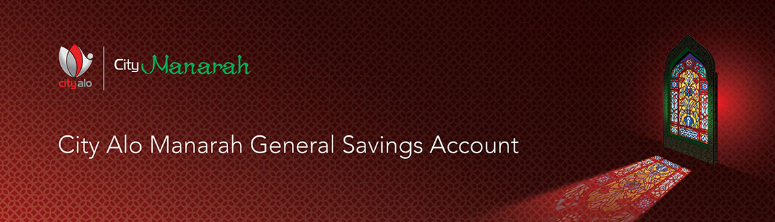 City Alo Manarah General Savings Account